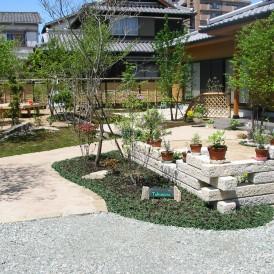 住友林業 雑木のあるナチュラルガーデン 加古川市
