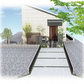 平屋住宅の外構デザイン|大好きな紅葉で四季の変化を五感で楽しめる和モダ...