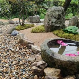 真砂土舗装で管理しやすい和庭にリフォームガーデン 市川