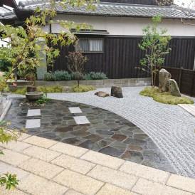 姫路市庭|四季の変化を楽しみながら安らげる和モダン庭園