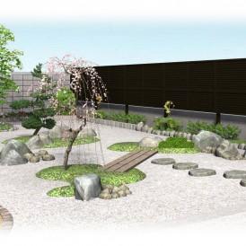 姫路市和庭リフォーム工事|庭木の生い茂った庭・雑草だらけの庭をスッキリ...