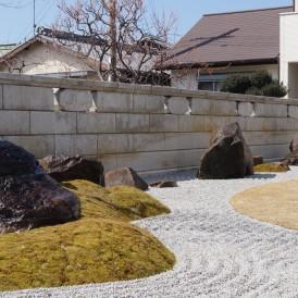 雑木が生み出す豊かな空間和モダン庭園 播磨町