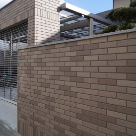 タイル張り外構リフォーム工事 姫路市