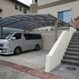 たつの市外構リフォーム工事|ユニバーサルホームのお家の素敵な外構お庭工...