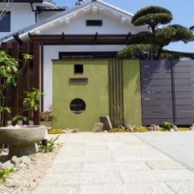 昔の面影を残した和庭のリフォーム 姫路市