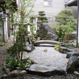 枯山水の庭 たつの市 J様邸