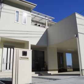 シンプルデザイン新築外構 たつの市K様邸
