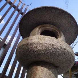石灯篭とつくばい和の趣のある坪庭姫路市O様邸