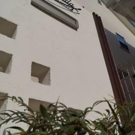 おしゃれなホワイトカラーの門柱 姫路市T様邸