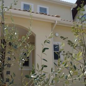 オリーブのあるかわいい植栽工事 姫路市M様邸