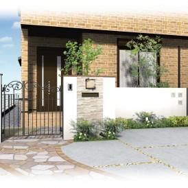 姫路市庭デザイン|家族団らんの場ガーデンテラスのあるお庭
