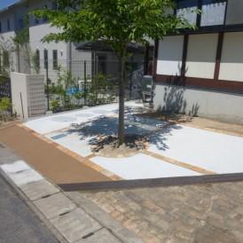 芝生の庭リフォーム施工事例 佐用町M様邸
